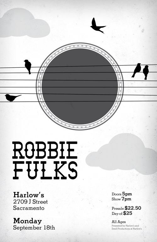 Robbie Fulks Poster